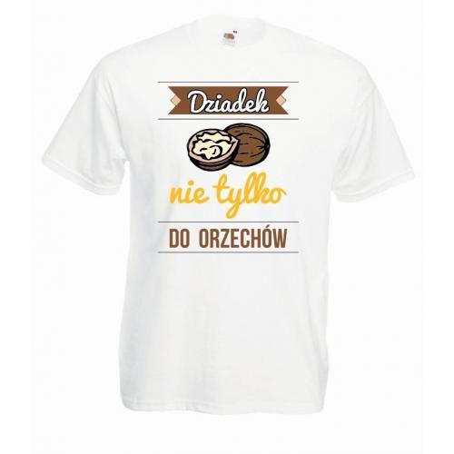 T-shirt oversize DTG NAJLEPSZY SUPER FAJNY DZIADEK