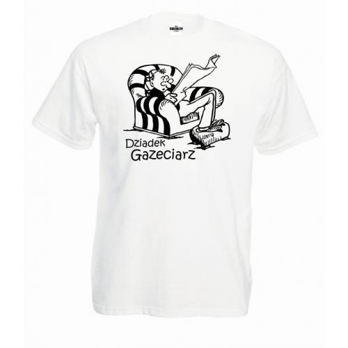 T-shirt oversize Dziadek Gazeciarz