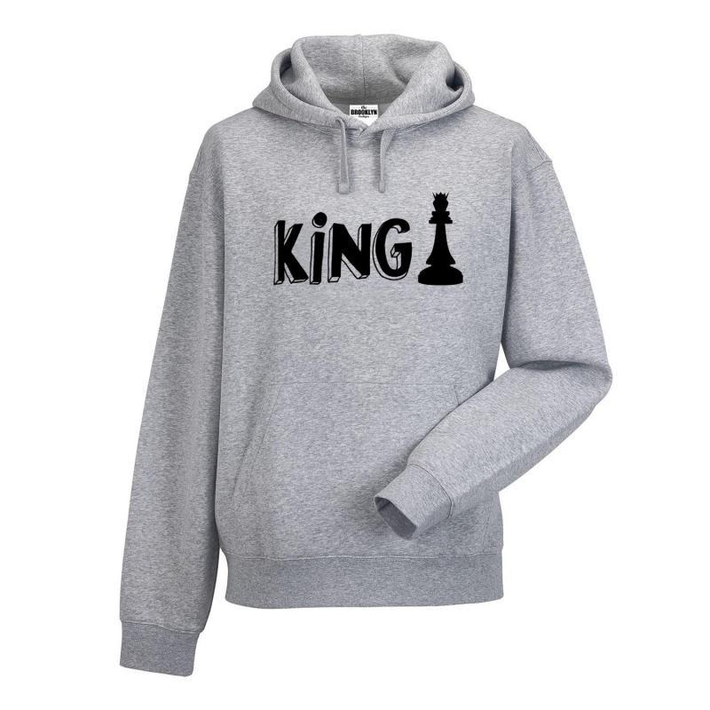 bluza z kapturem king chess OUTLET