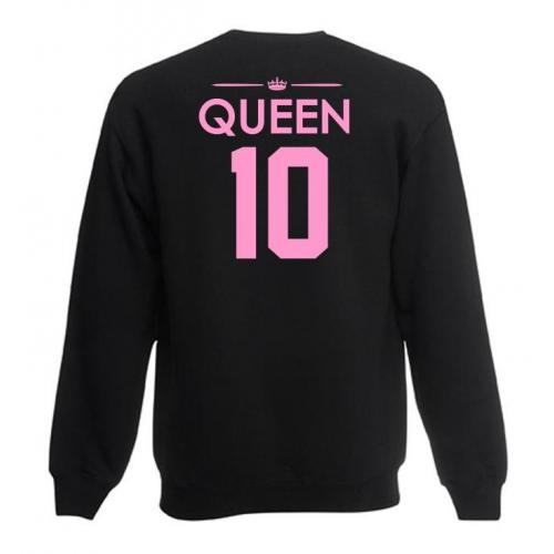 Bluza oversize queen 01 tył OUTLET