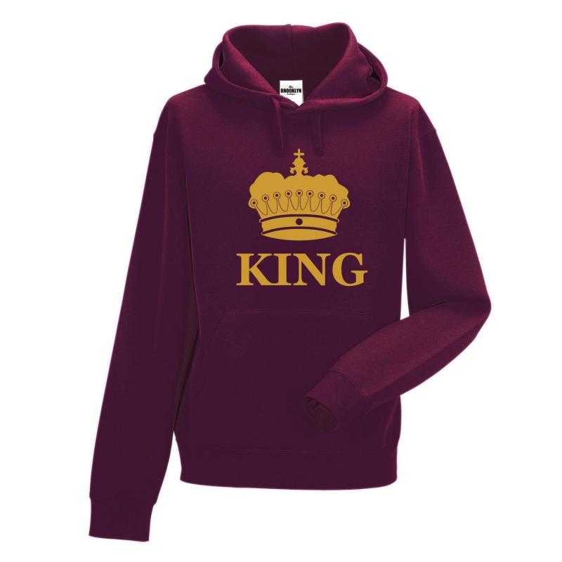 bluza z kapturem KING CORONE OUTLET