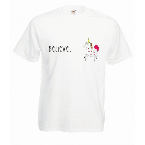 T-shirt oversize DTG BELIEVE 2