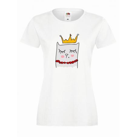 T-shirt lady slim DTG thug life