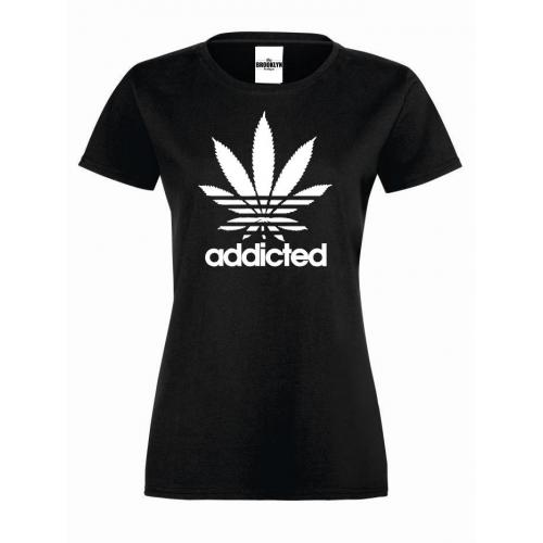 T-shirt lady ADDICTED