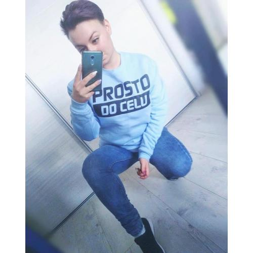 bluza oversize PROSTO DO CELU