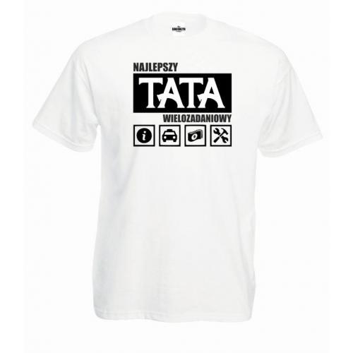 T-shirt oversize tata wielozadaniowy