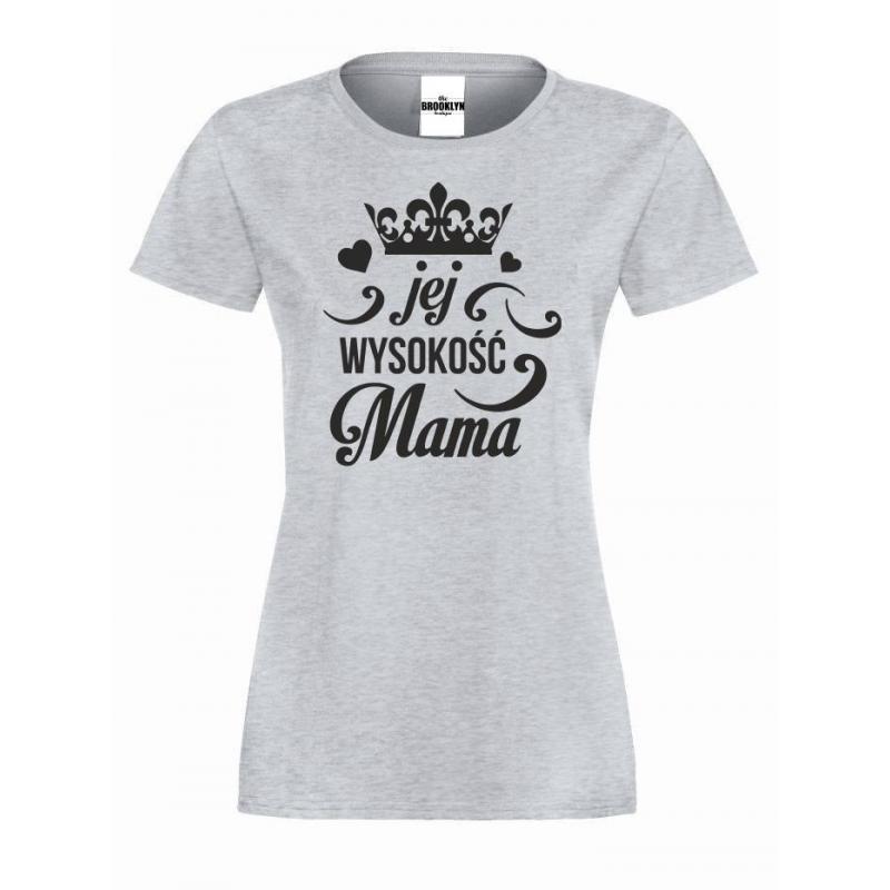 T-shirt lady jej wysokość mama
