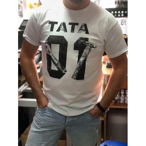 T-shirt oversize DTG TATA 01 BLACK