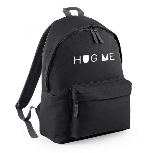plecak HUG ME owal czarny