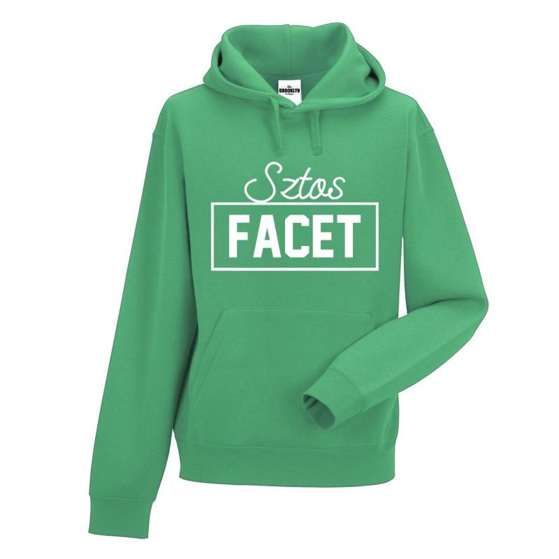 bluza sztos facet zielony
