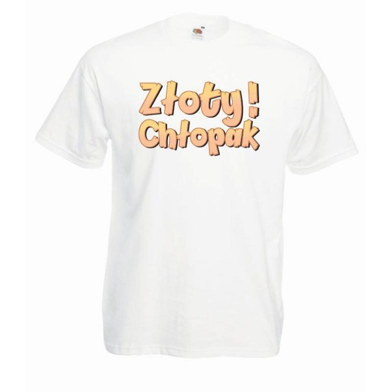 T-shirt oversize DTG ZŁOTY CHŁOPAK