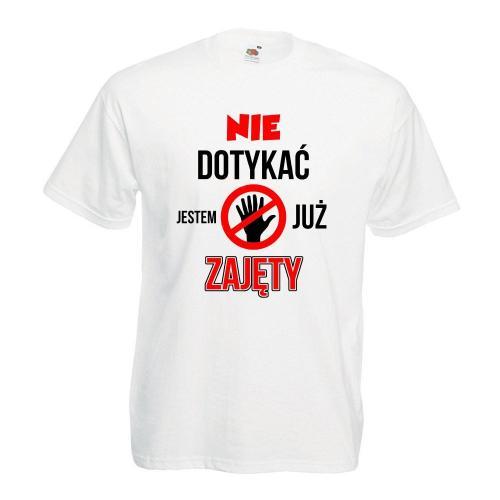 T-shirt oversize DTG NIE DOTYKAĆ