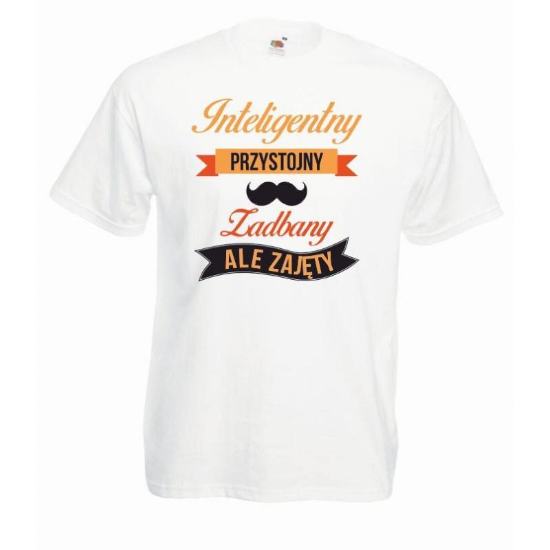 T-shirt oversize DTG INTELIGENTNY