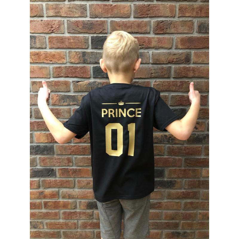 T-shirt kids PRINCE 01