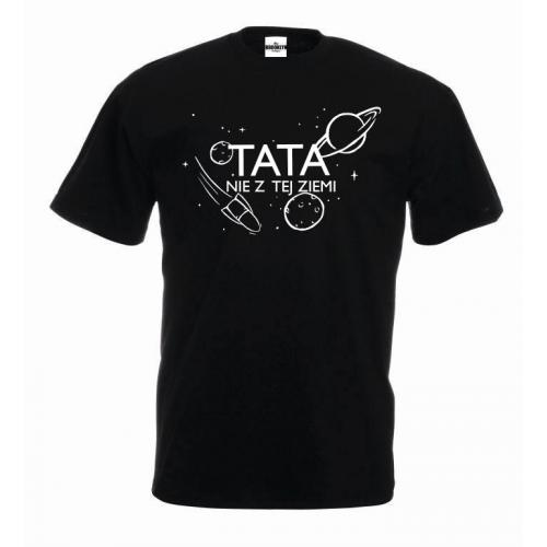 T-shirt oversize TATA nie z tej ziemi