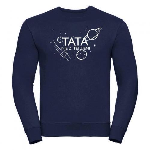 bluza oversize TATA nie z tej ziemi