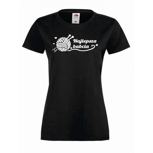 T-shirt lady/oversize Najlepsza babcia 2