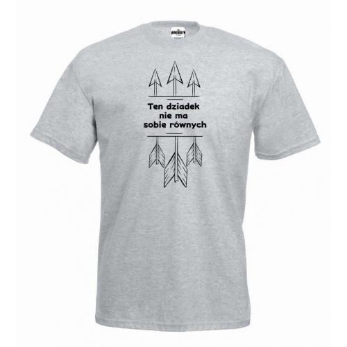 T-shirt oversize Ten dziadek nie ma sobie równych