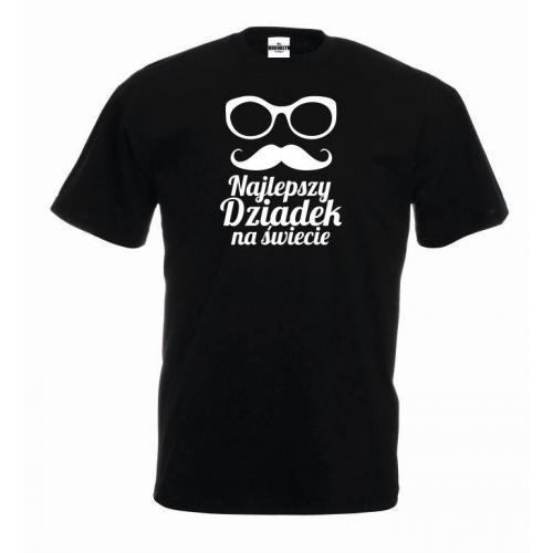 T-shirt oversize  najlepszy dziadek na świecie 3