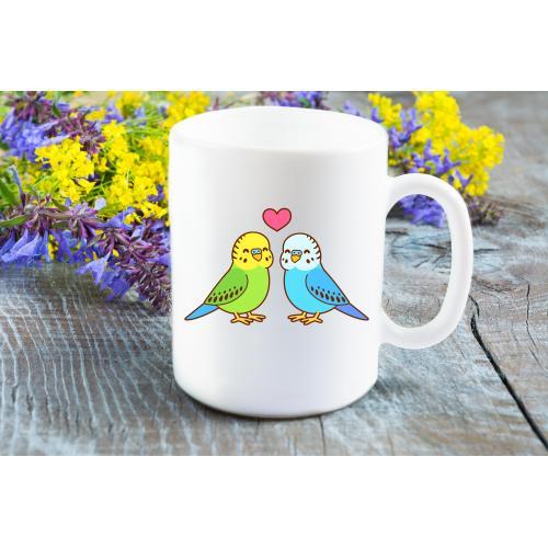 Kubek Parrots