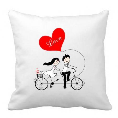 PODUSZKA druk Love On Bicycle