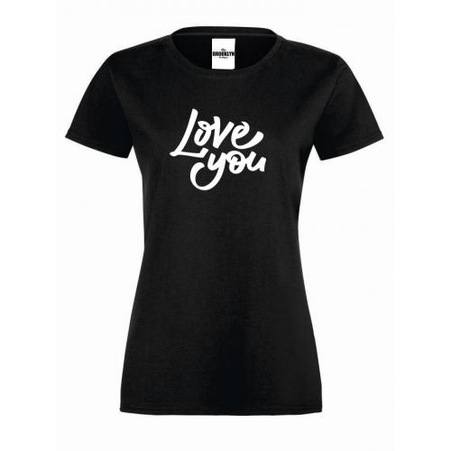 T-shirt lady Love you