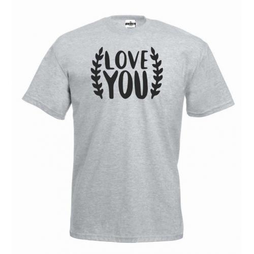 T-shirt oversize Love you 2