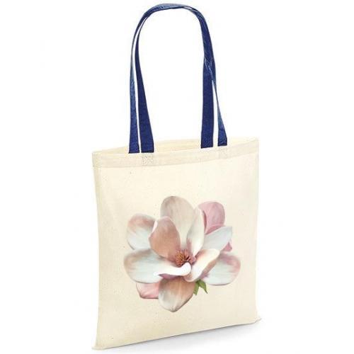 Torba bawełniana magnolia kolorowe