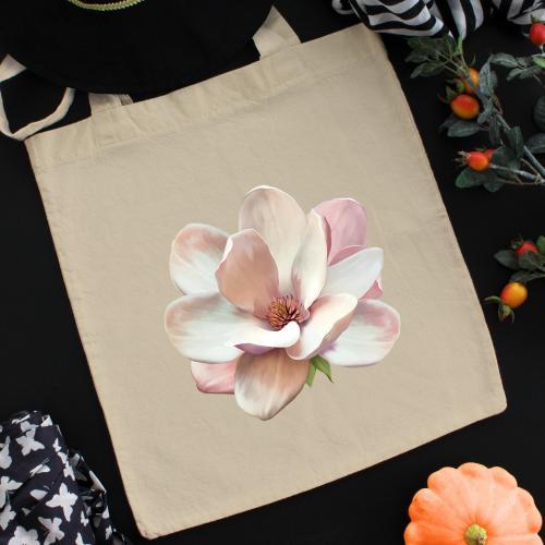 Torba bawełniana ecri magnolia