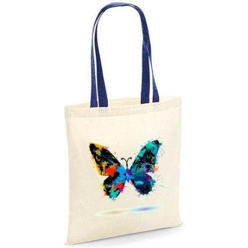 Torba bawełniana butterfly kolorowe