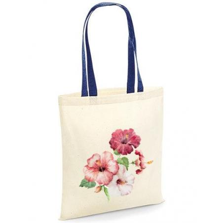 Torba bawełniana hibiscus kolorowe