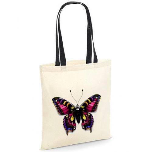 Torba bawełniana mysterious butterfly kolor
