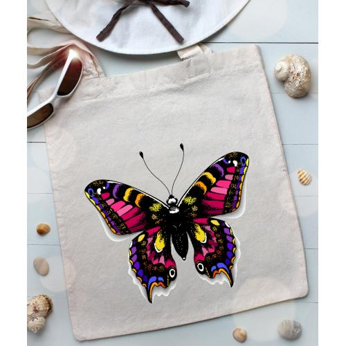 Torba bawełniana ecri mysterious butterfly