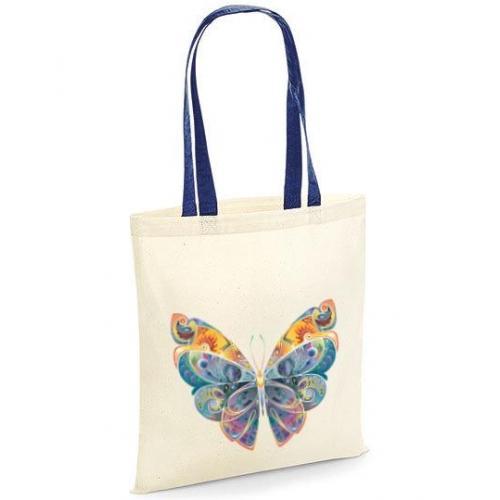 Torba bawełniana fairytale butterfly kolor