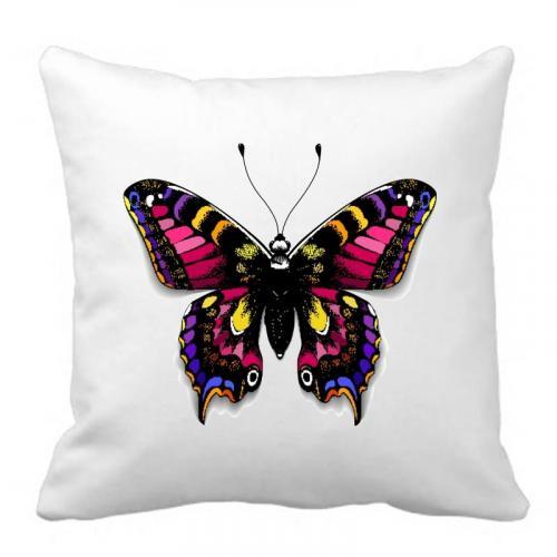 PODUSZKA druk mysterious butterfly
