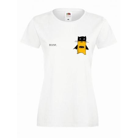 T-shirt lady slim DTG to tylko pozory