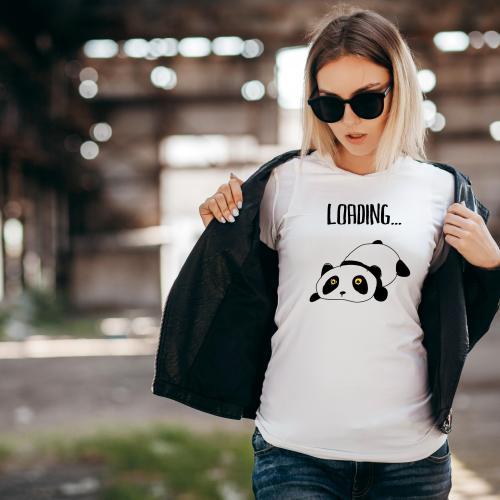 T-shirt lady slim DTG mała mi