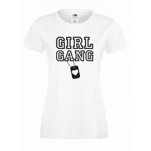 T-shirt lady GIRL GANG