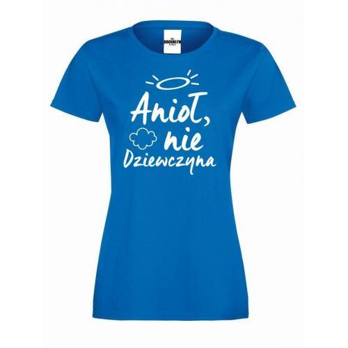 T-shirt lady ANIOŁ NIE DZIEWCZYNA