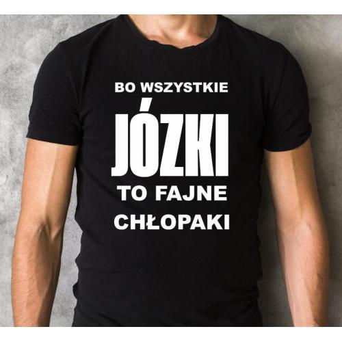 T-shirt na imieniny Józef równy chłop