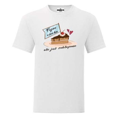 T-shirt oversize DTG Fajne ciacho ale juz zaklepane