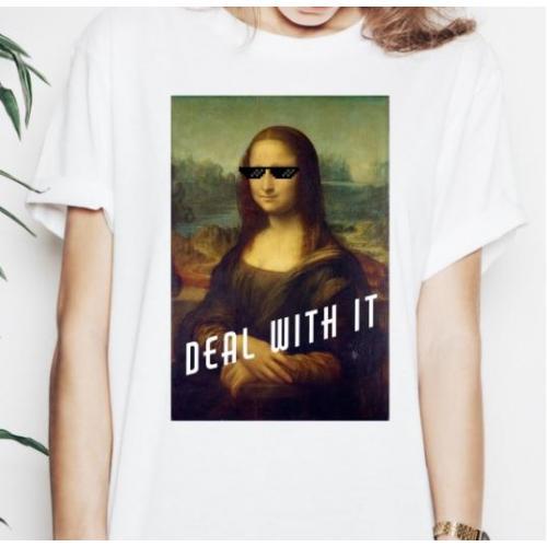 T-shirt lady slim DTG Weź nie pytaj Weź się przytul