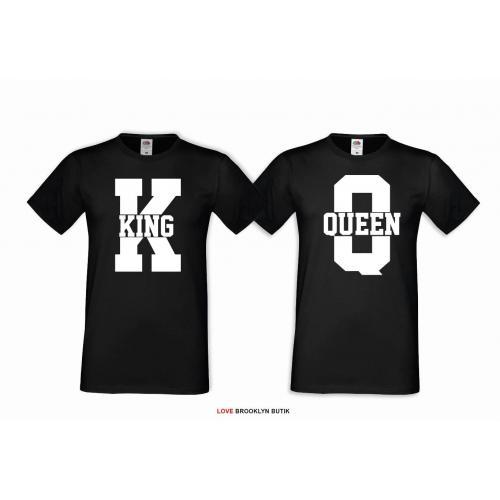 t-shirty dla par queen king