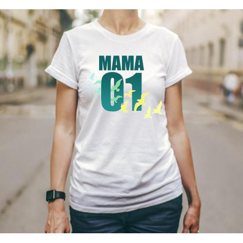 T-shirt lady Bożena ninja