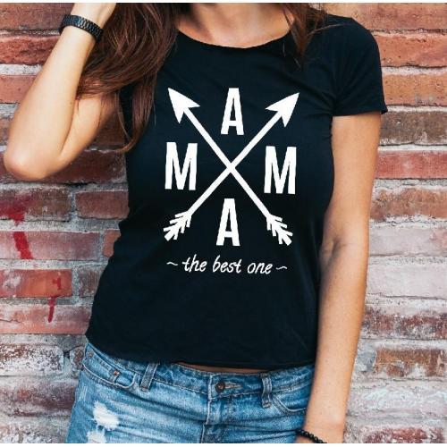T-shirt lady Mam robi najlepiej pierogi