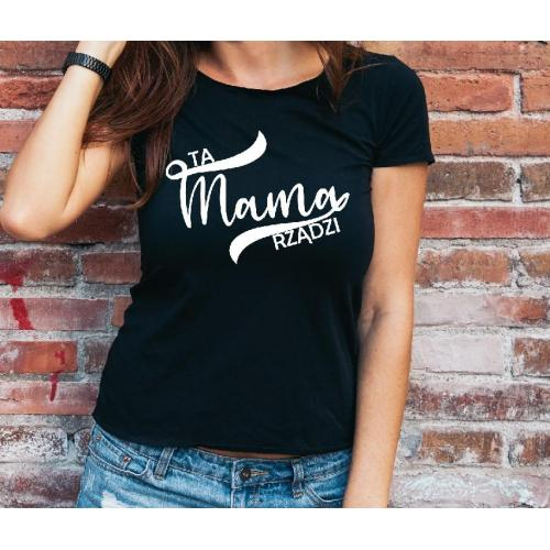 T-shirt lady Mama the best one