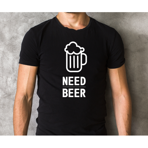 T-shirt oversize NEED BEER