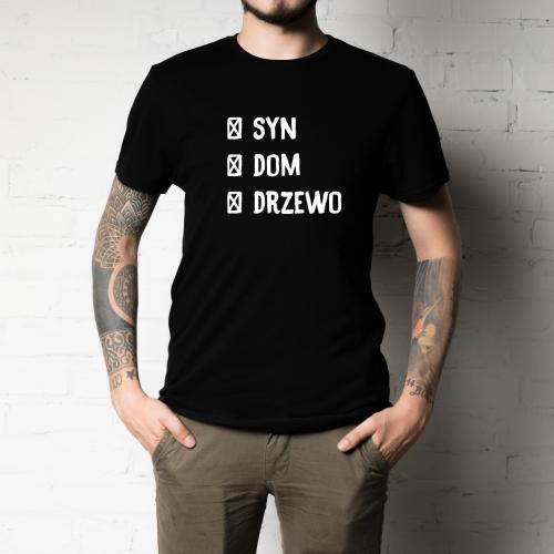 T-shirt oversize SYN DOM DRZEWO