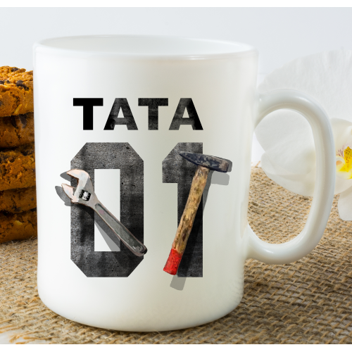 Kubek z nadrukiem TATA 01