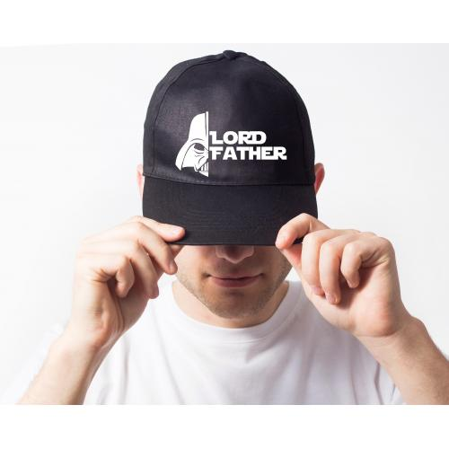 Czapka snapback czarna Lord father